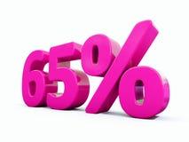Muestra rosada del 65 por ciento libre illustration