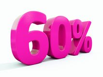 Muestra rosada del 60 por ciento Libre Illustration