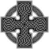 Muestra tradicional de la cruz céltica del vector Fotografía de archivo libre de regalías