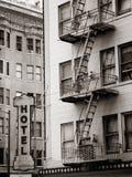 Muestra y apartamento del hotel Imágenes de archivo libres de regalías