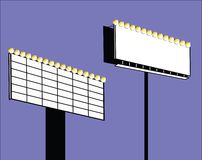 Muestras con las luces ilustración del vector