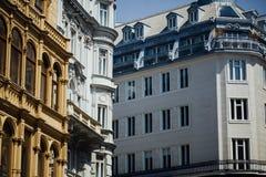 Muestras de arquitectura decorativa clásica Imagen de archivo libre de regalías