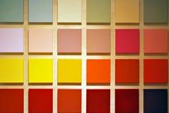 Muestras de color foto de archivo libre de regalías