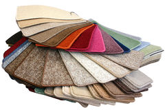 Muestras de la alfombra