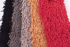 Muestras de la alfombra Foto de archivo libre de regalías