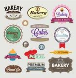 Muestras de la panadería Fotos de archivo libres de regalías