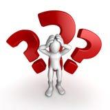 Muestras de la pregunta y ejemplo humano/  Imagen de archivo