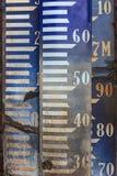 Muestras de la prueba patrón del dato de la artillería de Amsterdam de la vendimia Foto de archivo
