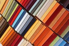 Muestras de la tapicería Imágenes de archivo libres de regalías