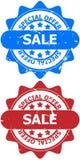 Muestras de la venta de la oferta especial stock de ilustración
