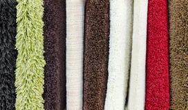 Muestras de la versión parcial de programa de la alfombra Fotografía de archivo libre de regalías