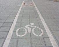 Muestras de las bicicletas Imagen de archivo libre de regalías