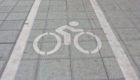 Muestras de las bicicletas Fotos de archivo libres de regalías
