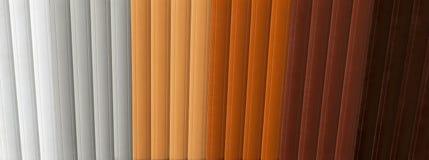 Muestras de las persianas foto de archivo libre de regalías