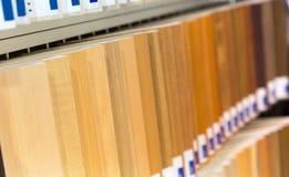 Muestras de madera Fotografía de archivo libre de regalías