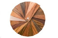 Muestras de madera del color Foto de archivo libre de regalías