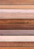 Muestras de piso de madera foto de archivo libre de regalías