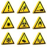 Muestras de seguridad - Set02 Imagenes de archivo