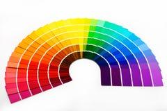 Muestras del color Imagenes de archivo