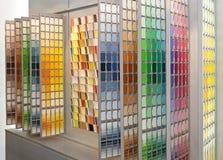 Muestras del color imagen de archivo