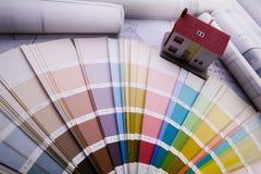 Muestras del color Fotos de archivo libres de regalías
