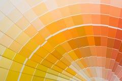 Muestras del color fotografía de archivo libre de regalías