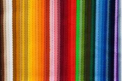 Muestras del color de la tela Fotografía de archivo