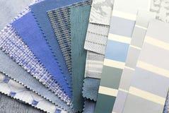 muestras del color de la textura de la tapicería imagen de archivo