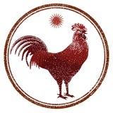 Muestras del gallo Fotos de archivo libres de regalías