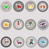Muestras del zodiaco. Imágenes de archivo libres de regalías