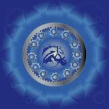 Muestras del zodiaco Fotografía de archivo libre de regalías