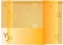 Muestras del zodiaco Stock de ilustración