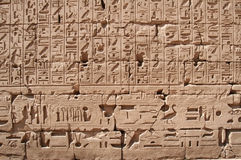 Muestras egipcias Fotografía de archivo libre de regalías