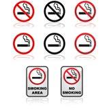 Muestras que fuman stock de ilustración