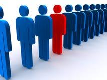 Muestras que se colocan en línea Imagen de archivo