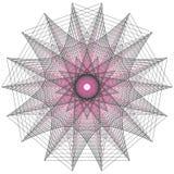 Muestras sagradas de la geometría Sistema de símbolos y de elementos Alquimia, religión, filosofía stock de ilustración