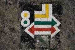 Muestras turísticas del rastro Imagen de archivo libre de regalías