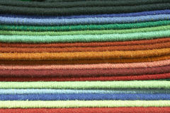 Muestras y muestras de la textura de la alfombra Fotografía de archivo libre de regalías