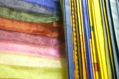 Muestras y muestras materiales de la textura Fotografía de archivo libre de regalías