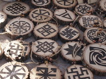 Muestras y símbolos Imagen de archivo