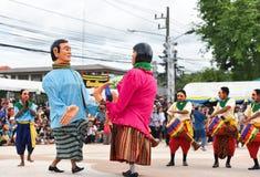 Muestre apagado la danza de Camboya Imágenes de archivo libres de regalías