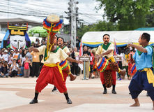 Muestre apagado la danza de Camboya Fotos de archivo libres de regalías