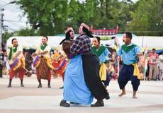 Muestre apagado la danza de Camboya Imagenes de archivo