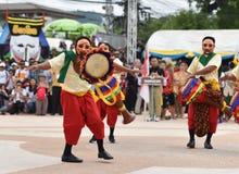 Muestre apagado la danza de Camboya Foto de archivo