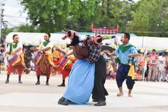 Muestre apagado la danza de Camboya Imagen de archivo