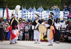 Muestre apagado la danza de la Corea del Sur Foto de archivo