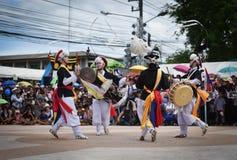 Muestre apagado la danza de la Corea del Sur Imagen de archivo
