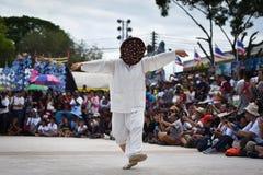 Muestre apagado la danza de la Corea del Sur Fotografía de archivo