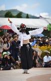 Muestre apagado la danza de la Corea del Sur Foto de archivo libre de regalías