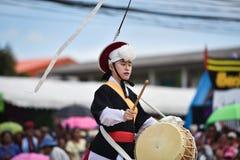 Muestre apagado la danza de la Corea del Sur Imágenes de archivo libres de regalías